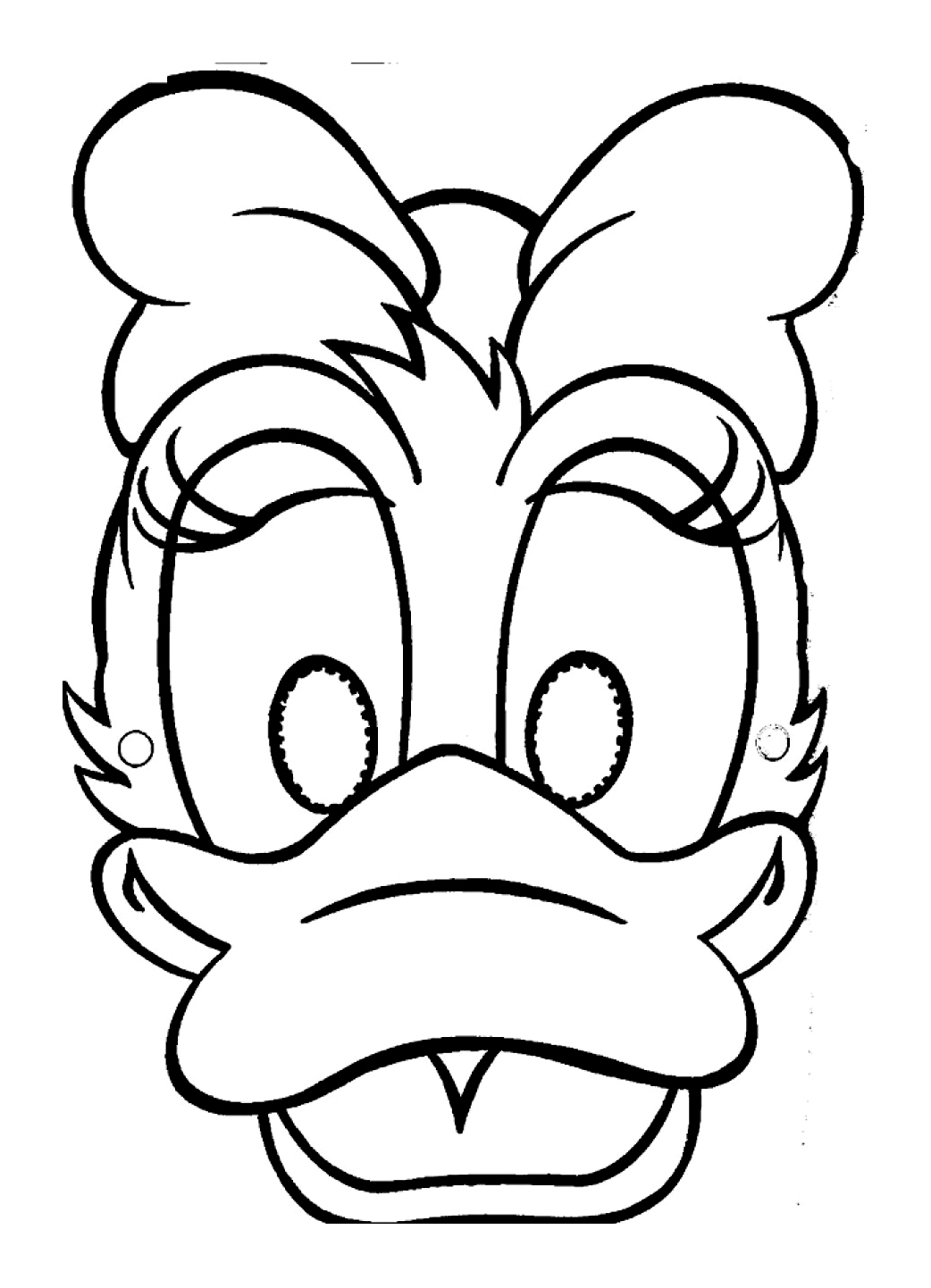 Daisy coloring page to download