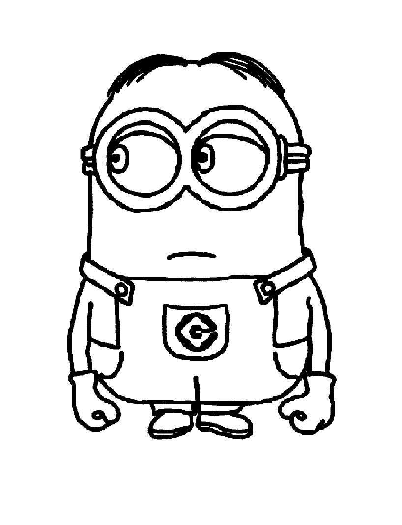 Despicable Me Free To Color For Children Despicable Me