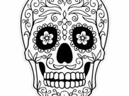 Dia De Los Muertos (Day Of The Dead) Coloring Pages for Kids