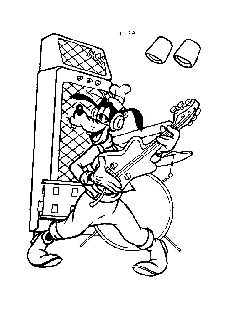 Dingo coloring page to download