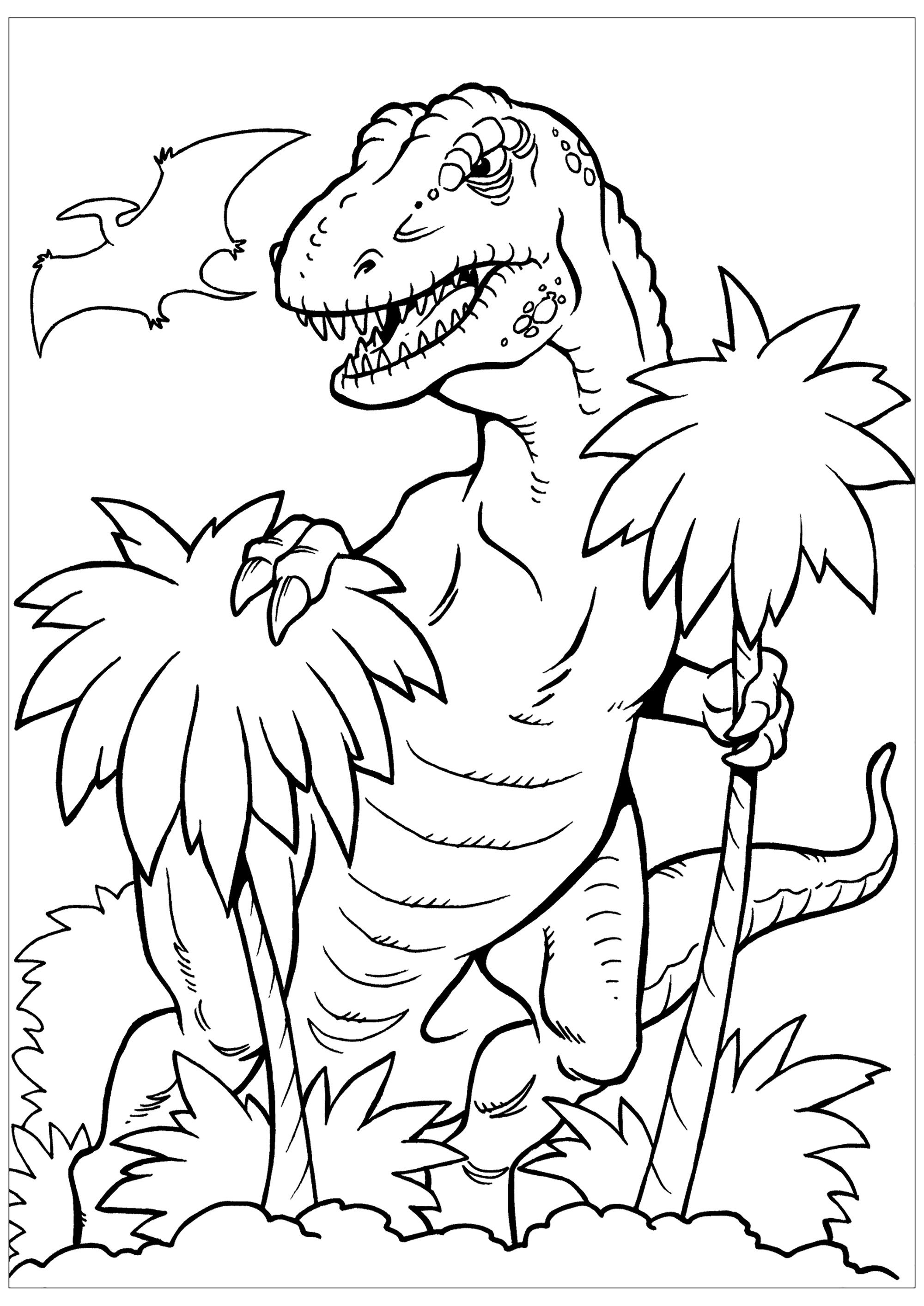 Dinosaurs for kids - Dinosaurs Kids Coloring Pages