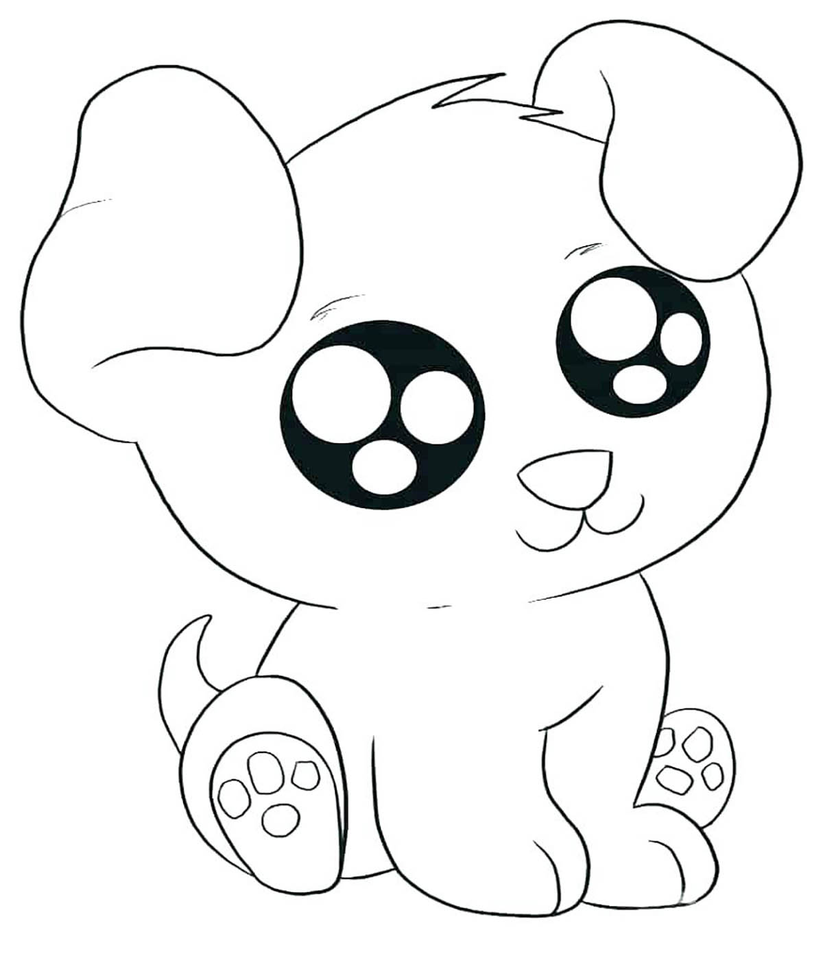 Dogs to print Kawa dog Dogs Kids Coloring Pages