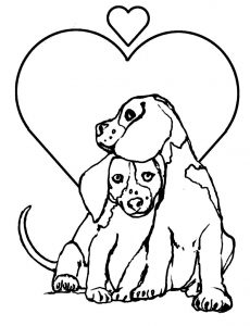 photo regarding Dog Coloring Pages Printable referred to as Puppies - Absolutely free printable Coloring internet pages for children