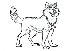 photo relating to Dog Coloring Pages Printable called Canines - No cost printable Coloring internet pages for little ones