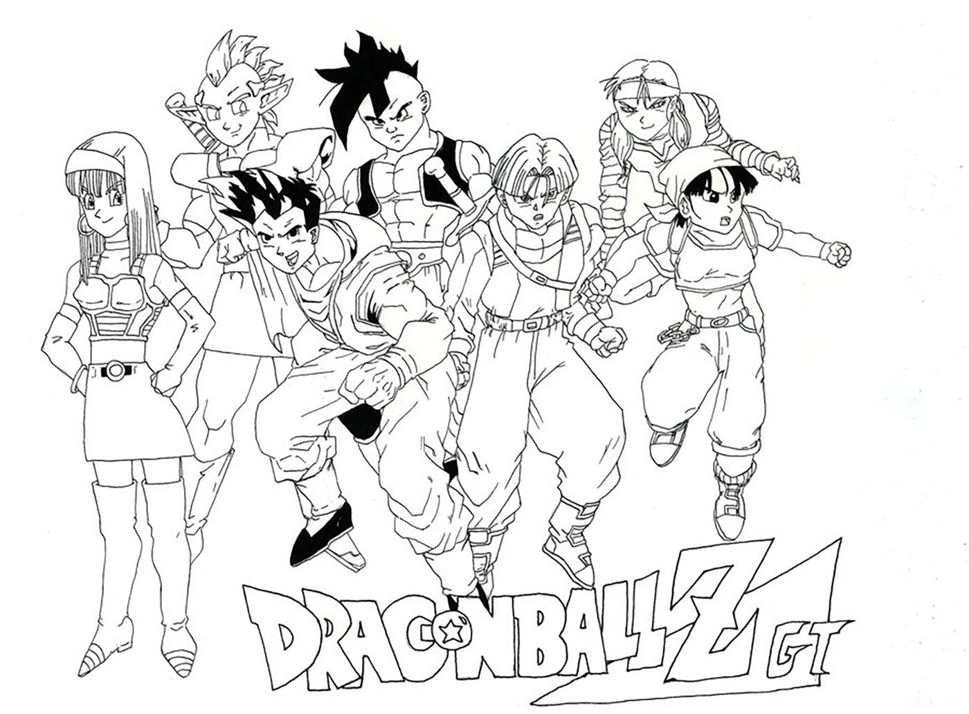 Oob Bulma Trunks Yamcha Videl And Warriors Dragon Ball Z Kids