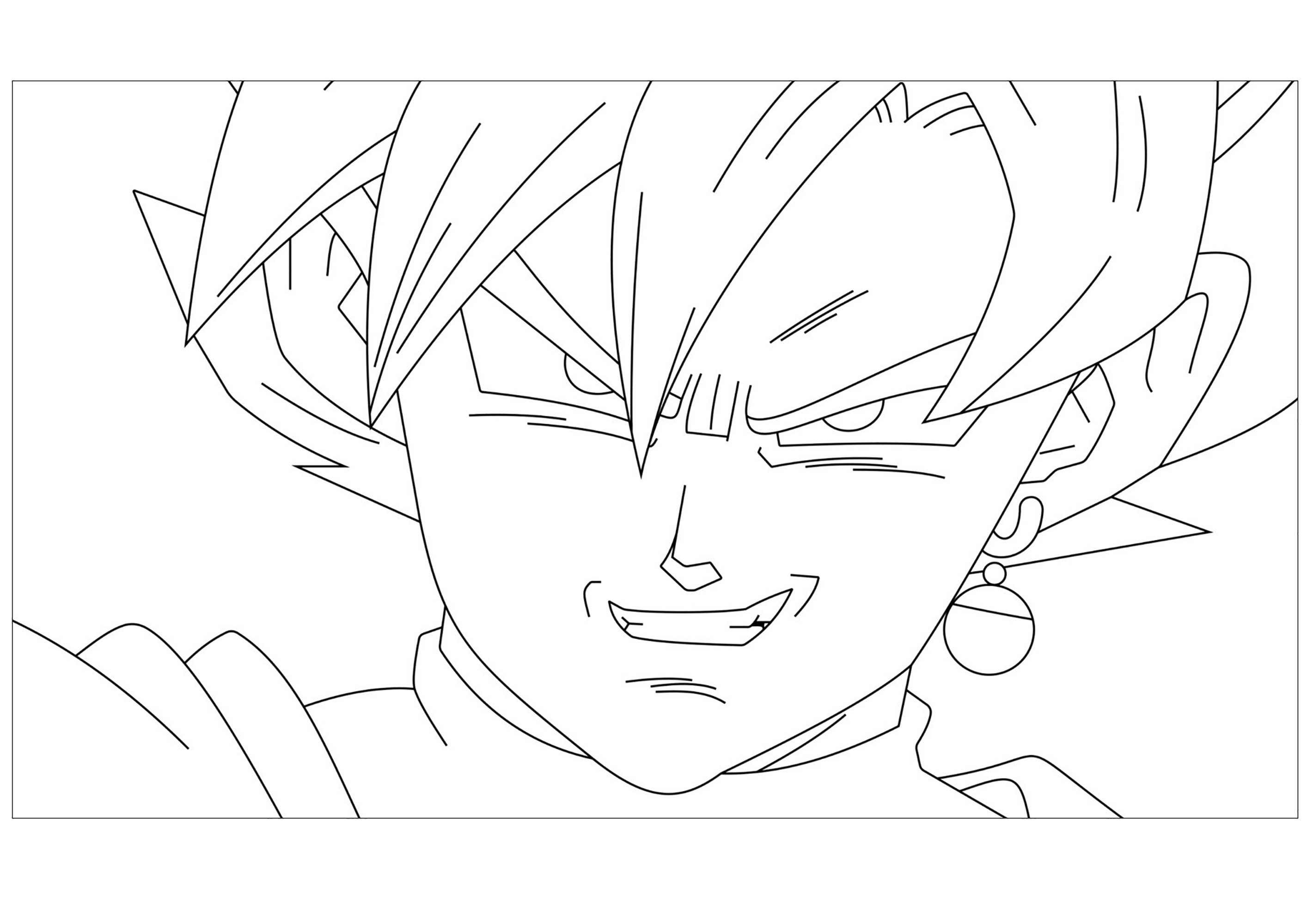 Dragon Ball Z Kids Coloring Pages