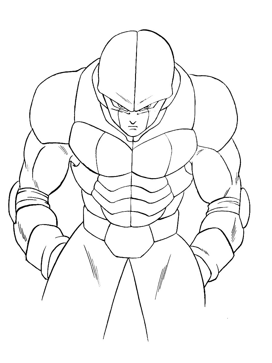 Hit Dragon Ball Z Kids Coloring Pages