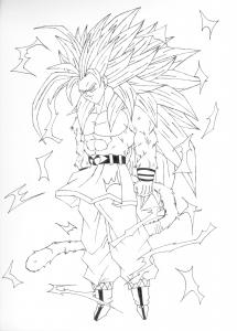 Songoku Super Saiyajin 3