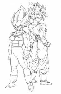 Dragon Ball Super Coloring Pages | Lost ocean coloring book, Super ... | 300x195