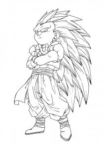 Gotenks Super Saiyajin 3
