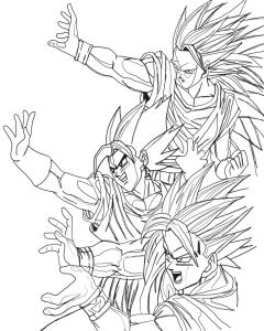 Songoku and Vegeto