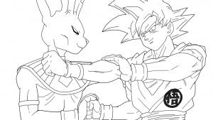 Beerus and SonGoku