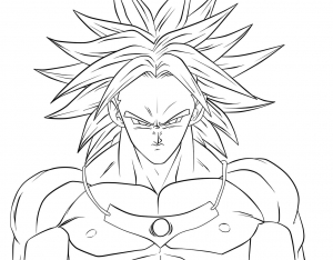 Dragon Ball Z Free Printable Coloring Pages For Kids Page 3