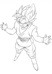 Dragon Ball Coloring Pages Collection - Whitesbelfast | 300x212