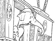 Dumbo Coloring Pages for Kids
