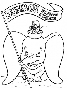 dumbo free printable coloring pages for kids