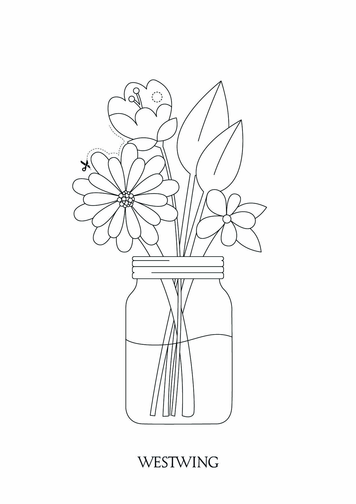 Easter coloring page to print and color for free