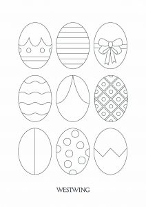 Coloring page easter free to color for kids