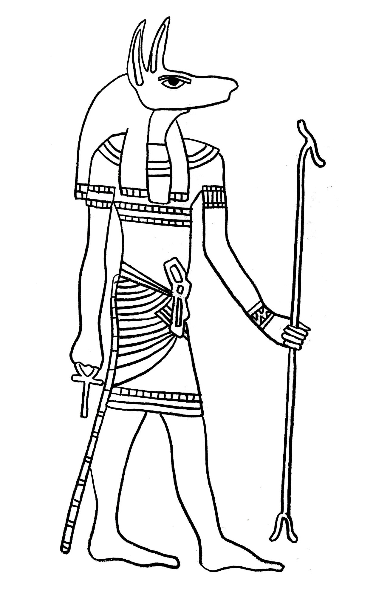 Egypt To Color For Kids Egypt Kids Coloring Pages