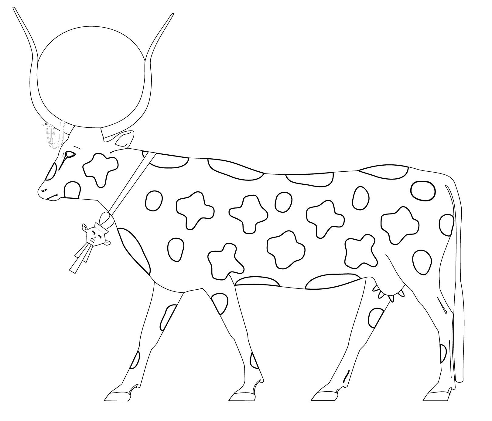 Beautiful Egypt coloring page