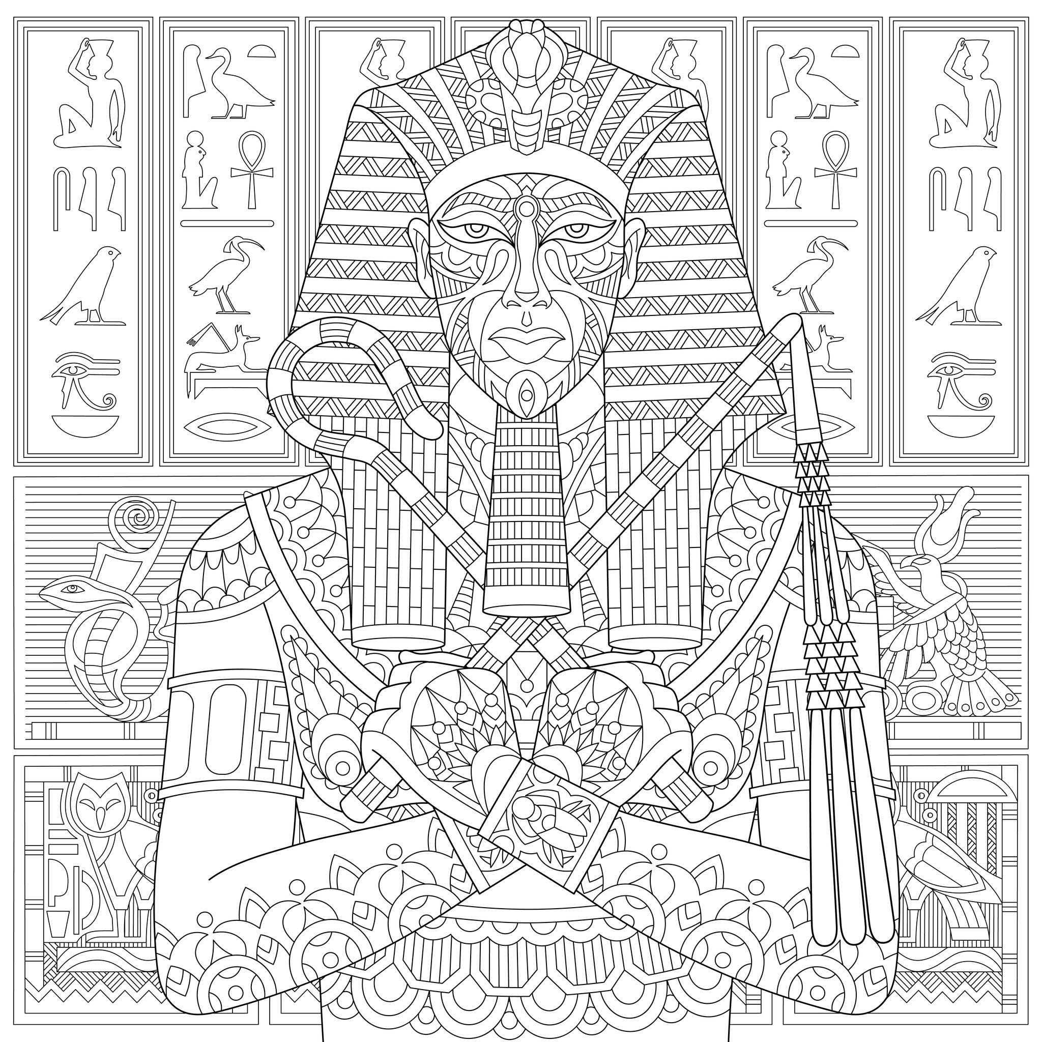 Egypt to download - Egypt Kids Coloring Pages