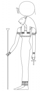 Coloring page egypt to color for children