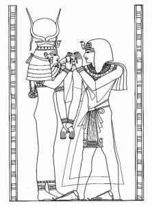 Coloring page egypt to print for free