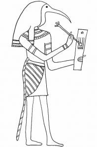 Coloring page egypt to color for kids