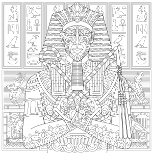 Egypt - Coloring pages for kids | JustColor Kids
