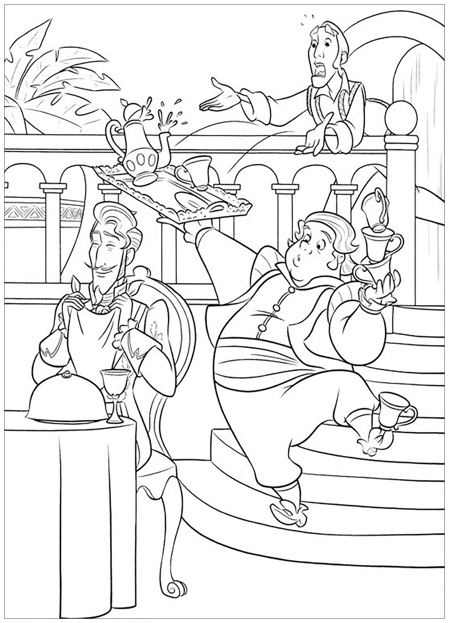 Elena Avalor coloring page to print and color