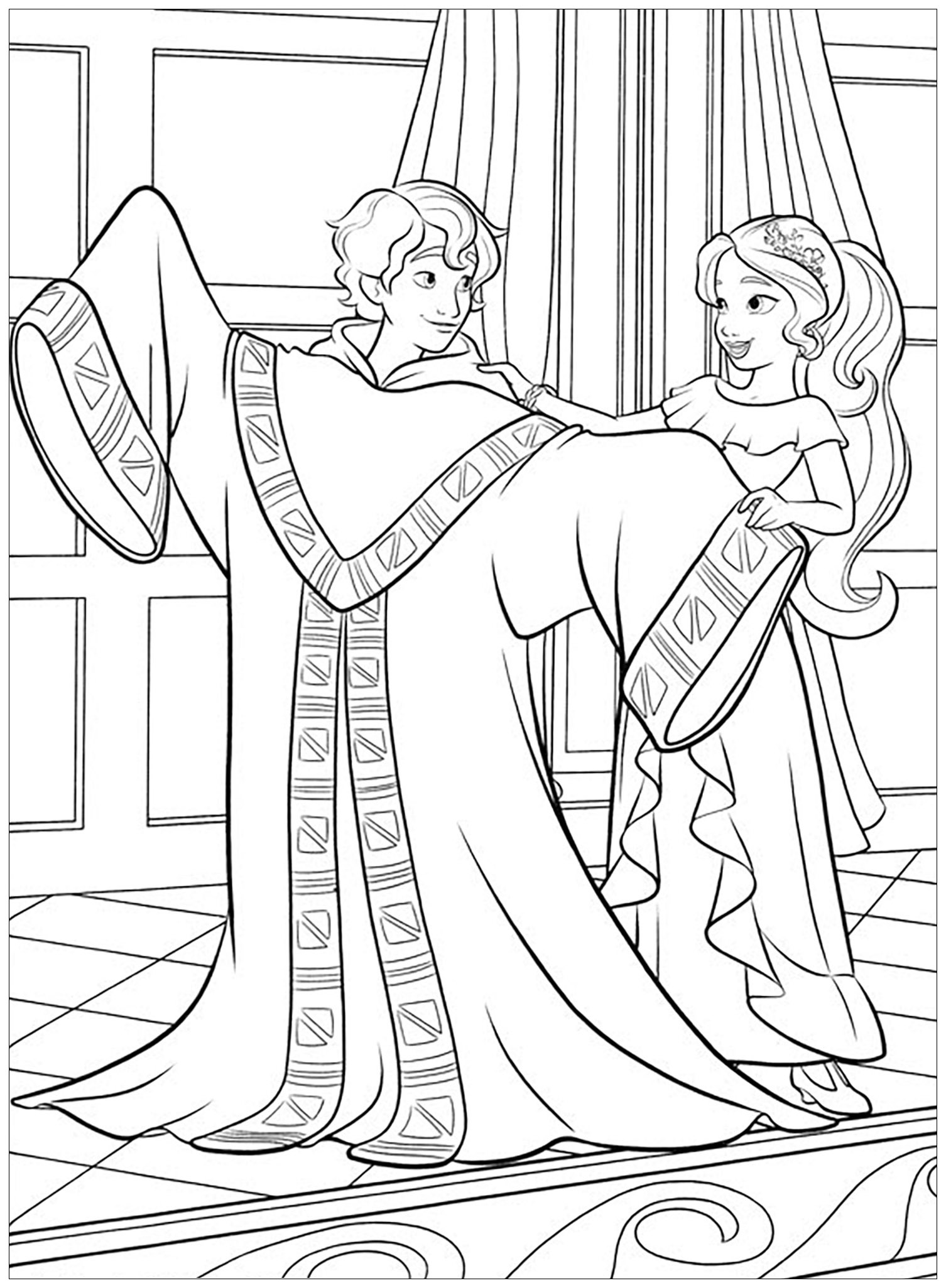 Elena avalor to download - Elena Avalor Kids Coloring Pages