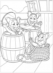 Coloring page elena avalor to download