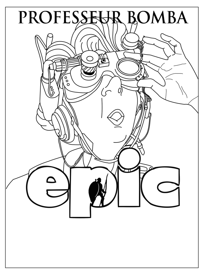 Printable Epic coloring page to print and color for free