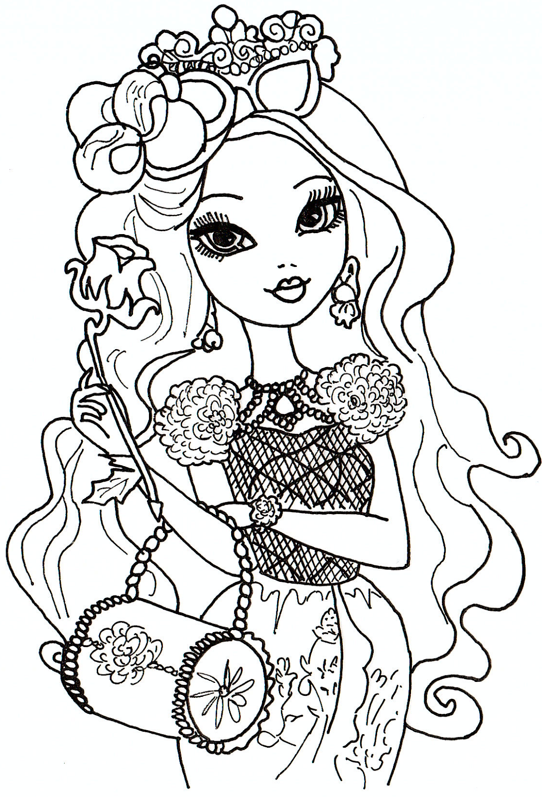 Ever after high to print for free - Ever After High Kids Coloring Pages