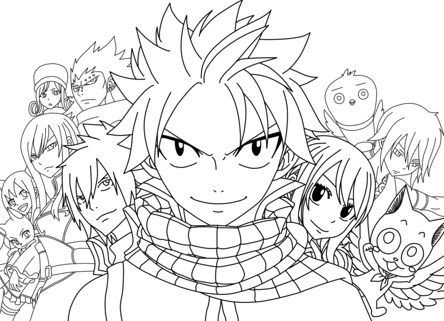 little lucy fairy tail coloring pages - fairy tail coloring pages ... | 651x900