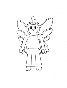 Coloring page fairy to print for free