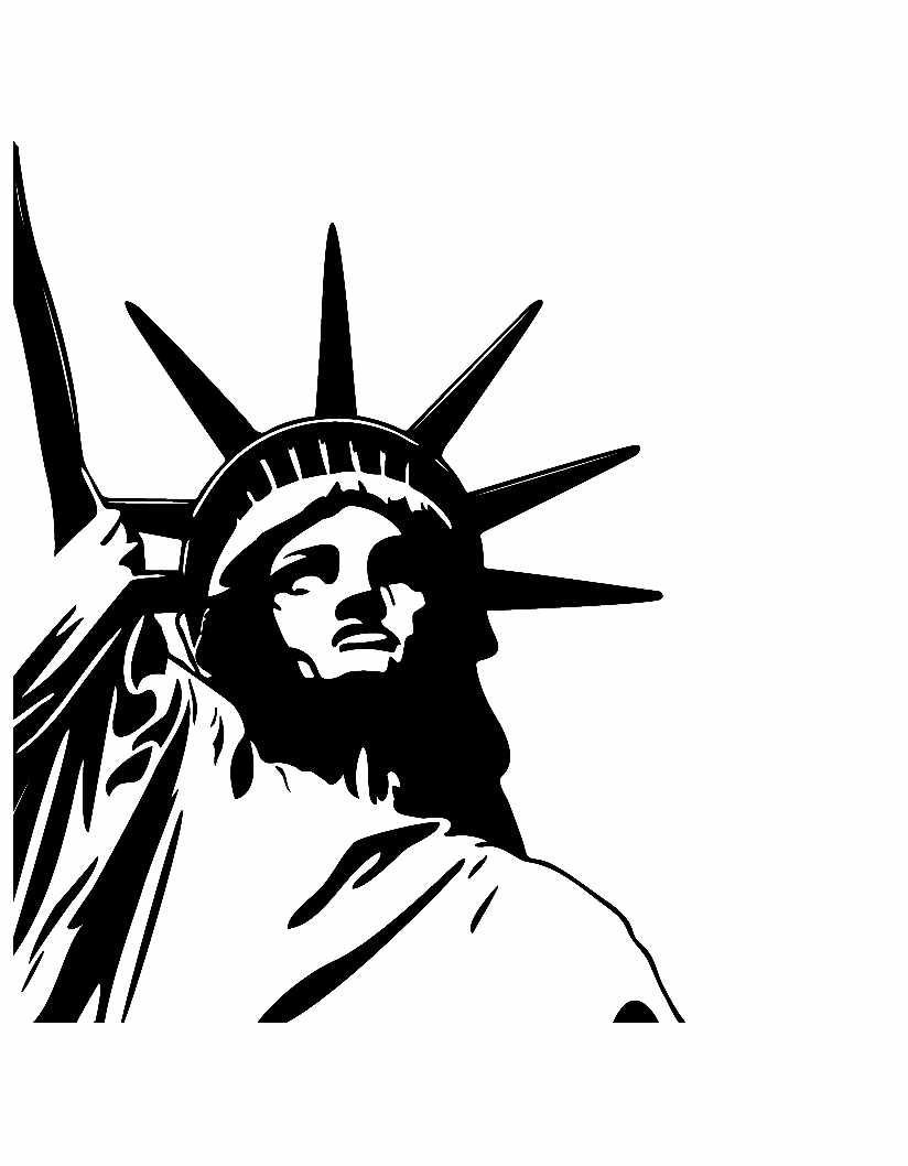 Printable Famous Monuments coloring page to print and color for free