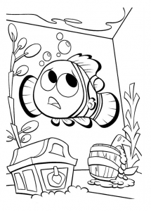 Coloring page finding nemo to print
