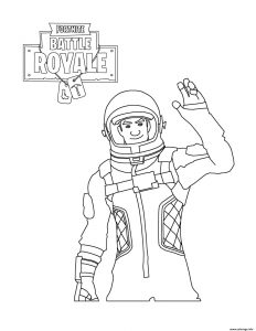 picture about Free Printable Fortnite Coloring Pages titled Fortnite Fight Royale - Cost-free printable Coloring internet pages for small children