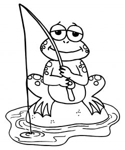 Frog Coloring Pages Printable 12 | Frog coloring pages, Animal ... | 300x249