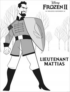 Frozen 2 : Lieutenant Mattias