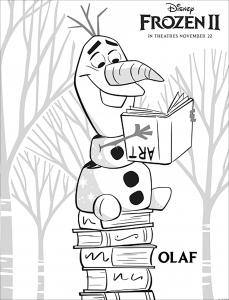 Frozen 2 : Olaf