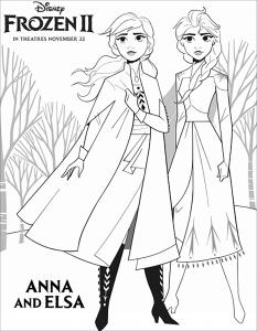Frozen 2 : Anna & Elsa