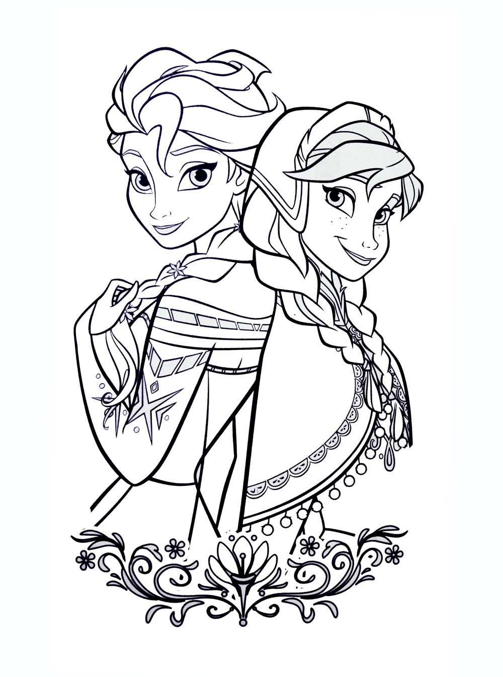 Frozen Free To Color For Kids