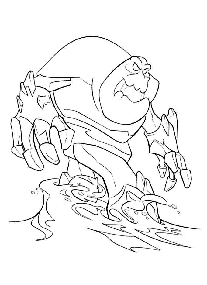 Frozen coloring page to download : Marshmallow