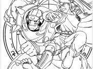 Full Metal Alchemist Coloring Pages for Kids