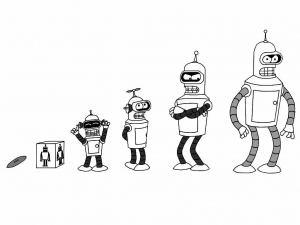 Coloring page futurama for children