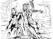 Guardians of Galaxy Coloring Pages for Kids