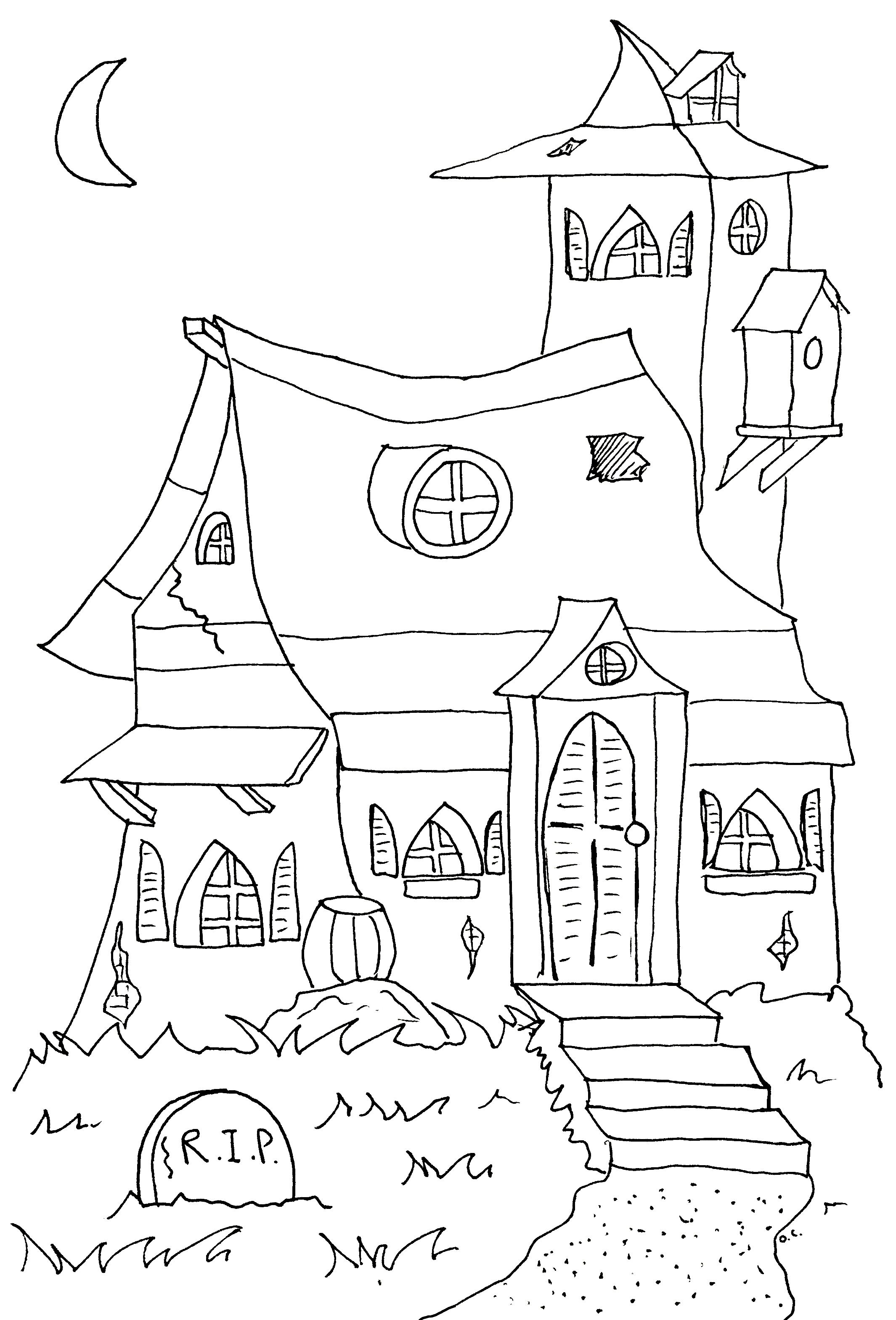 Halloween to print - Halloween Kids Coloring Pages