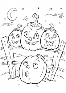 Coloring page halloween to download for free